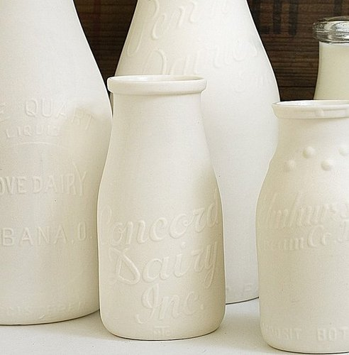 Etsy Find:  Reproduction Milk Bottles