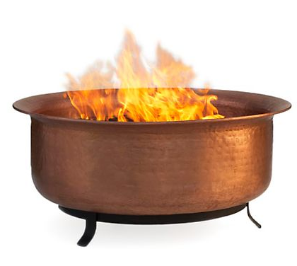 Smith and Hawken's Copper Cauldron Firepit ($239) will warm up chilly evenings, and probably lead to some great storytelling sessions.