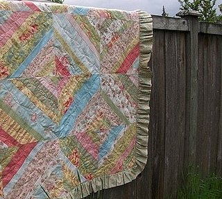 Etsy Find:  Summer Patchwork Quilt