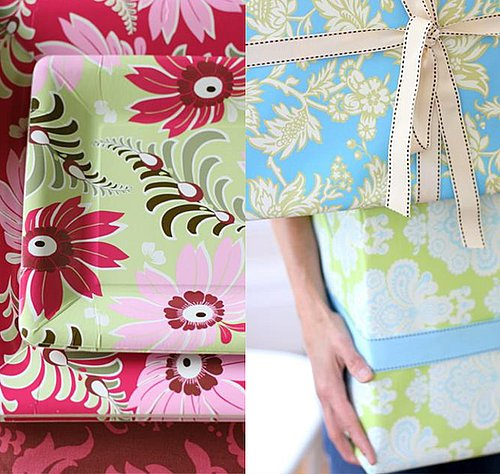 Nice and New: Amy Butler Eco Giftwrap and Tableware