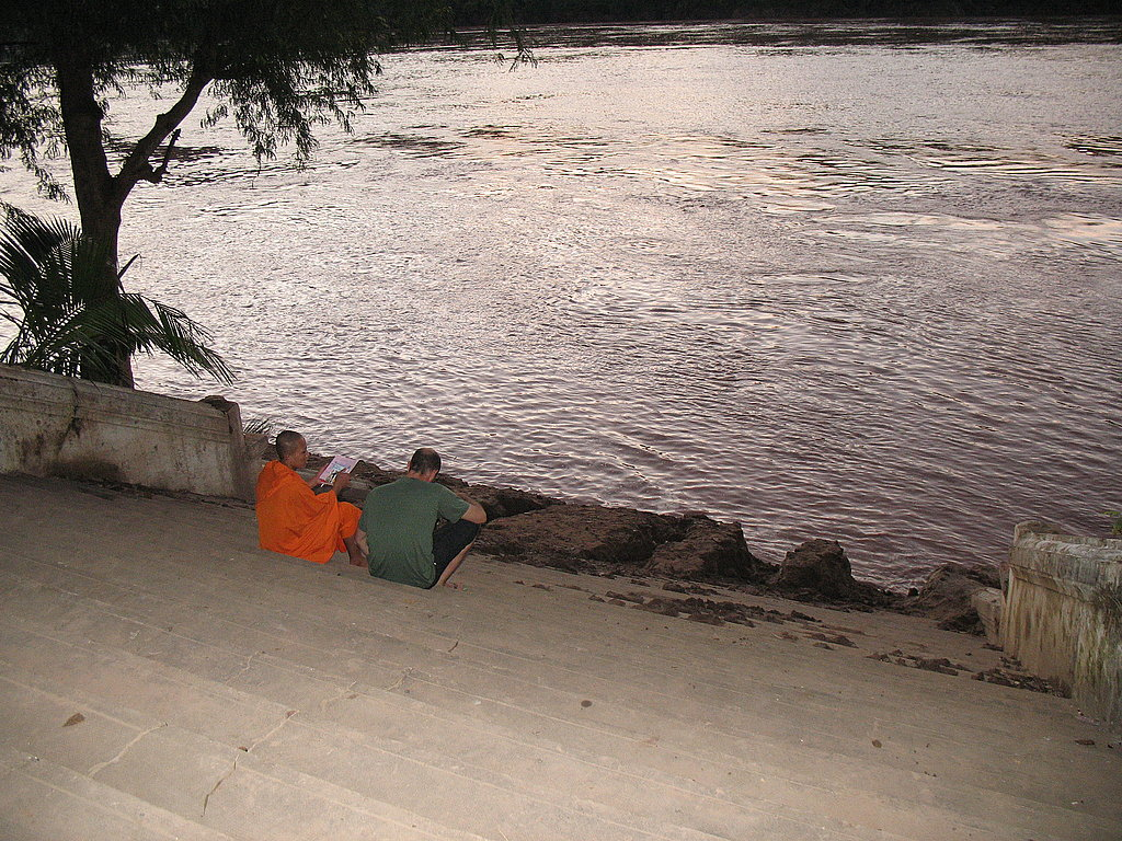 Conversation by the Mekong