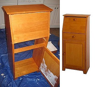 Before and After: A Fresh Secretary Desk