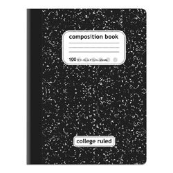 A Marble Composition Book ($2.49) is the epitome of old-school style.