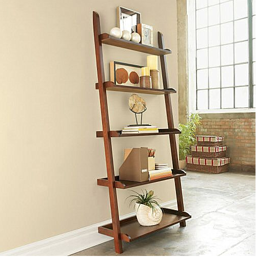 Steal Of The Day Jcpenney Wide Leaning Bookshelf
