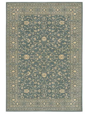 "The Karastan ""English Manor"" Rug ($2,999) is equally traditional and sophisticated in blue."