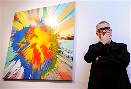 Love It or Hate It? Damien Hirst's Spin Art