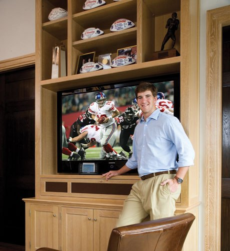 Coveted Crib: Eli Manning&#039;s Jersey Digs