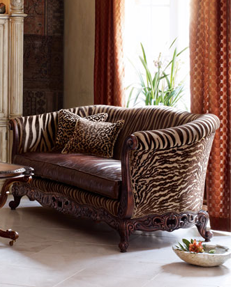 Love It or Hate It? Tiger Stripe Sofa