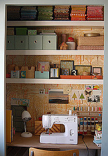 Would You Transform a Closet Into a Craft Area?