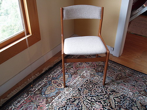 Before and After: A Tacky Chair Gets an Update