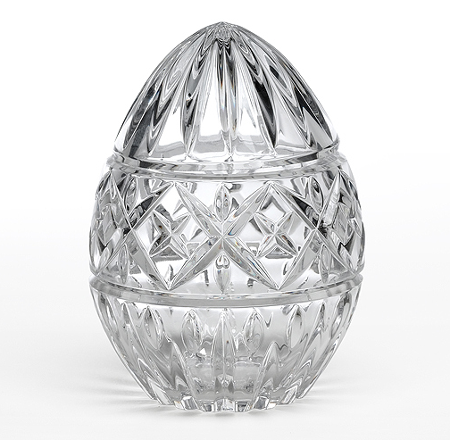 Move your paperwork over for the Mikasa Imperial Egg ($29).