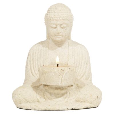 Get a taste of the East in your home with the World Market Stone Buddha With Candleholder ($14.99).