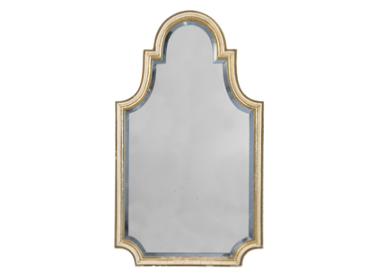 Set the Jayson Vintage Mirror ($1,495) on your mantel to achieve the same sophistication in your living room.