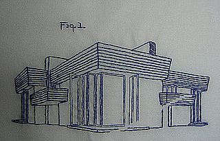 Cool Idea: Frank Lloyd Wright in Thread