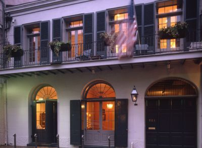 They still maintained their residence in New Orleans, though.   Source