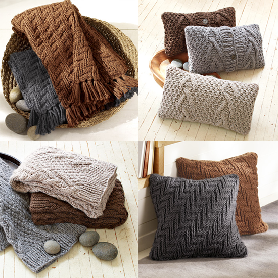 Lutz & Patmos bring their woolen styles to west elm. I love those pillows! Source