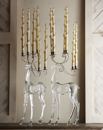 Love It or Hate It? Acrylic Deer Candelabrum