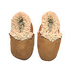 KINA Collection :: Lamb Baby Booties :: Lamb Booties - Camel