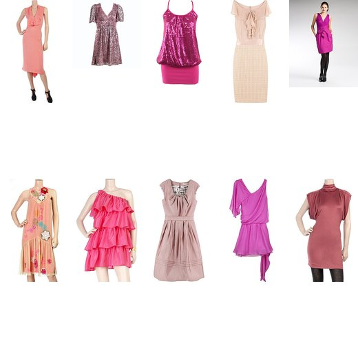 Top Ten Favorite Pink Dresses