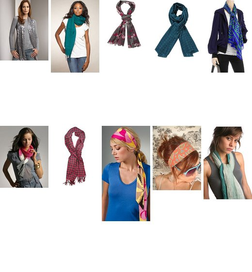 Do Want: Scarves!