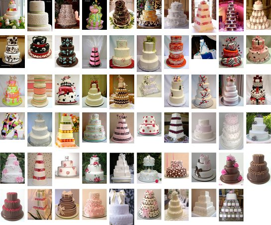 More Wedding Cakes