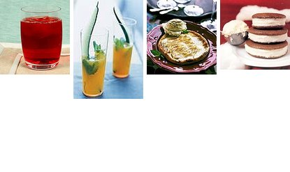 Party Menu: Drinks and Dessert