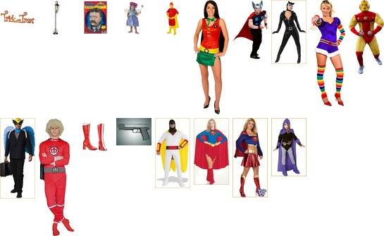 My suggested Hallowen Costumes