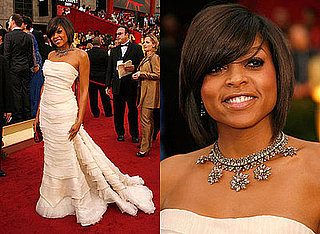 Oscars Red Carpet: Taraji P. Henson