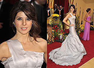Oscars Red Carpet: Marisa Tomei