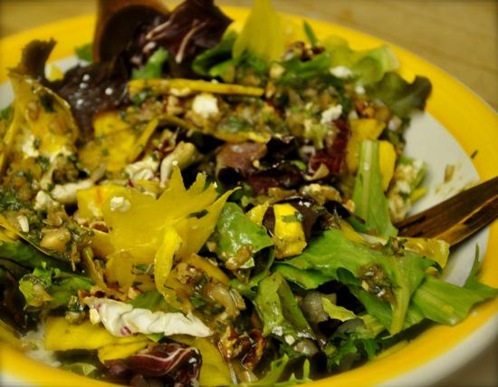 Shaved Beets Salad