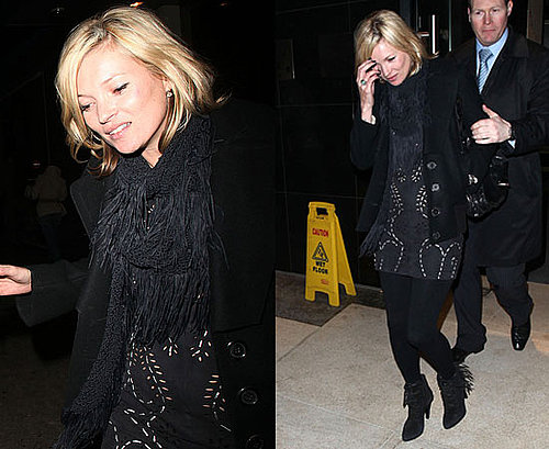 Photos of Kate Moss Heading To Topshop Meeting