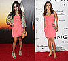 Eva Longoria and Zoe Kravitz Wear Coral Matthew Williamson Dress