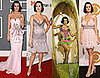 Singer Katy Perry&#039;s Outfits at the 2009 Grammys