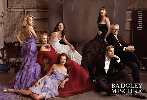 Badgley Mischka 20 Year Ad Campaign