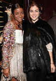 Genevieve Jones and Julia Restoin-Roitfeld