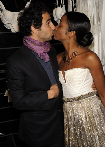 Zac Posen and Genevieve Jones