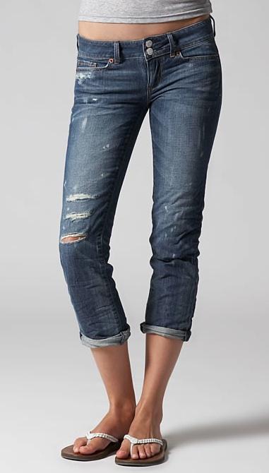 American Eagle Skinny Crop 77 Jean