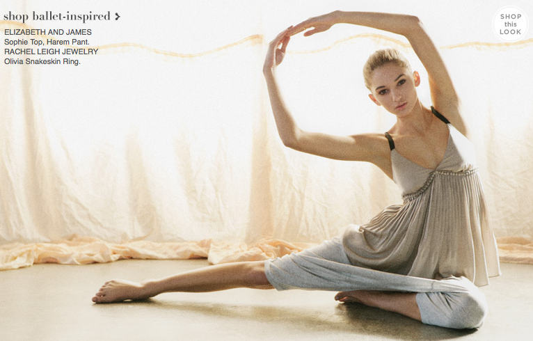 Look Book Love: Shopbop, On Pointe