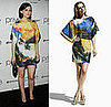Ginnifer Goodwin Parties in Las Vegas in an Artsy Matthew Williamson For H&amp;M Dress