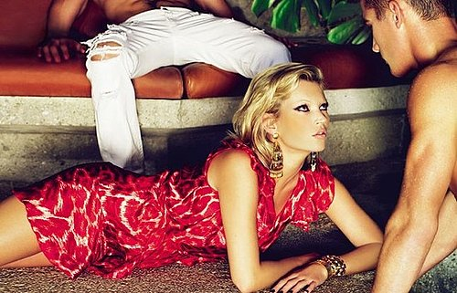 Just Cavalli Spring Ad Campaign Featuring Kate Moss