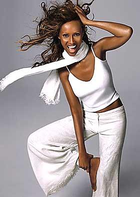 Model Muse: Iman