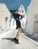 Girls on Film: Luis Monteiro Shoots Goth in Greece, Tatler
