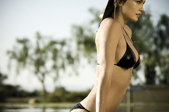 Hurley and Model Bar Refaeli Introduce the Little Black Bikini 2009-04-28 14:10:40