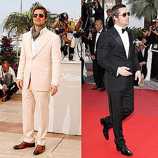 Brad Pitt in Tom Ford at the 2009 Cannes Film Festival