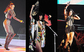 Ciara, Katy Perry, and Fergie at 2009 MTV Japan Video Music Awards