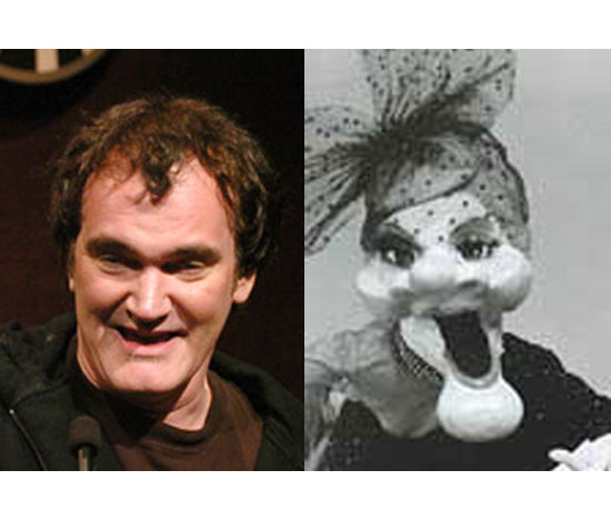 Quentin Tarantino and Madame the Puppet