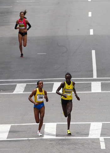 Results From the 2009 Boston Marathon