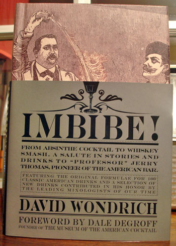 Review of Imbibe by David Wondrich
