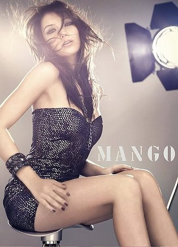 Daisy Lowe - Mango Autumn(Fall)/Winter 2009/2010 Ads