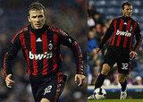 David Beckham Plays with AC Milan